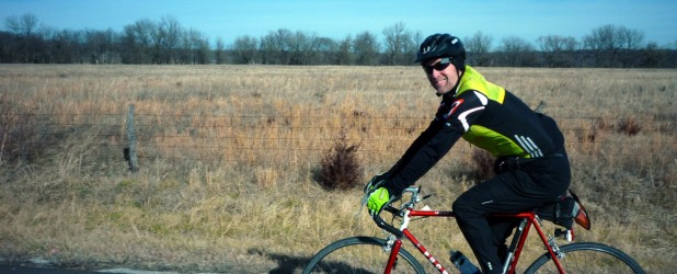 A ride report from a 133-mile randonneuring event in eastern Kansas. Amazing weather for early February, and a glorious day on the bike!