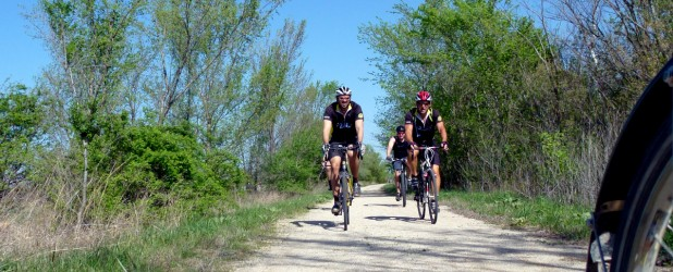 Free admission to the Prairie Spirit Trail was a good incentive to go for a long, long bike ride.